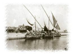 imbarcazioni a vela, libi, per il trasporto del sale
